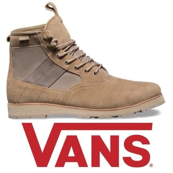 cc45dc0f80 VANS Fairbanks Boots Khaki - Rare Style NWT
